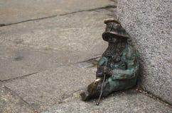 Wroclaw dvärg Royaltyfri Fotografi