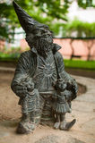 Wroclaw dwarf, Promyk Royalty Free Stock Photos