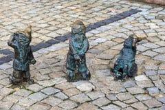 Wroclaw dwarfs Royalty Free Stock Image