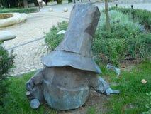 WROCLAW-dwerg, gnoom in het stadscentrum van Wroclaw, Silesi?, Polen stock foto
