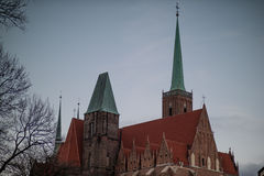 Wroclaw en invierno Imagen de archivo