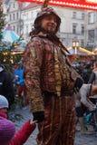 wroclaw för marknadsfyrkant Arkivbilder