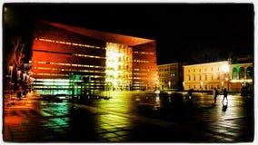 Wroclaw forum av musik Arkivbild
