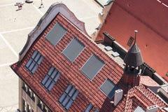 Wroclaw gammal marknadsfyrkant Arkivbilder