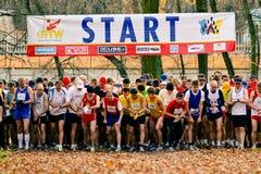 Wroclaw-geöffnete Meisterschaften beim Laufen stockfotografie