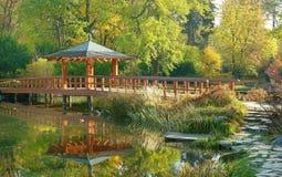 Wroclaw giapponese del giardino Immagine Stock