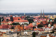 Wroclaw from a high tower Stock Photos