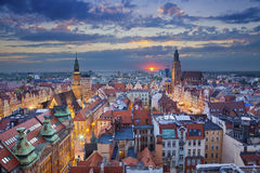 Wroclaw. stock images
