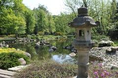 Wroclaw - japanträdgård Arkivbild