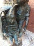 Wroclaw Krasnale (карлики) - Bankomatki Стоковая Фотография