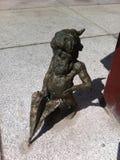 Wroclaw Krasnale (Dwarves) - Szermierz (Swordsman) Stock Image