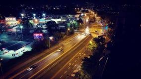 Wroclaw la nuit images libres de droits