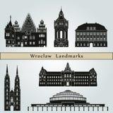 Wroclaw Landmarks Stock Photo