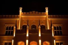 Wroclaw Main illumination Stock Images