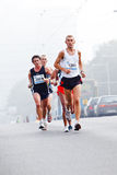 Wroclaw Marathon runners Stock Photography