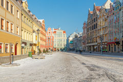 Wroclaw. Market Square. Royalty Free Stock Photos