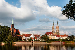 Wroclaw the meeting place Royalty Free Stock Images