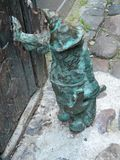 Wroclaw-nain, Gnome à Wroclaw, Silésie-Pologne photo stock