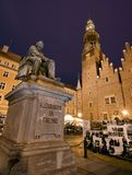 Wroclaw at night Royalty Free Stock Image