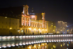 Wroclaw by night Royalty Free Stock Images