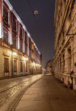 Wroclaw at night, Poland Royalty Free Stock Photos