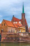 Wroclaw old city panorama Royalty Free Stock Photo