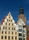 Wroclaw old main squere Royalty Free Stock Photo