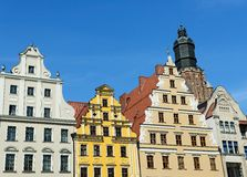 Wroclaw old main squere Royalty Free Stock Images