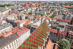 Wroclaw Old Market Square. Stock Image