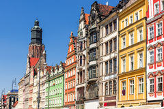 Wroclaw Old Market Square. Royalty Free Stock Photography
