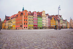 Wroclaw. Old Town in Wroclaw, Poland Royalty Free Stock Photo