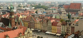 Wroclaw old town Royalty Free Stock Photos