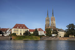 Wroclaw, Ostrow Tumski Stock Images
