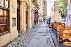 Wroclaw, paisaje urbano fotografía de archivo libre de regalías