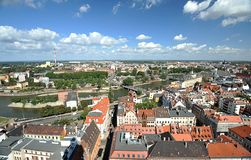 Wroclaw - panorama Stock Image