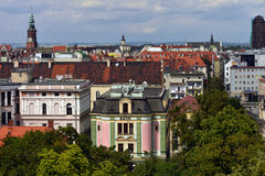 Wroclaw - panorama. Image was taken in August 2012 Stock Photography