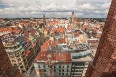 Wroclaw / Panorama view / Poland Stock Image