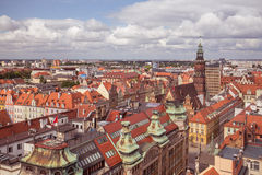 Wroclaw / Panorama view / Poland Stock Photo