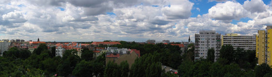 Panorama Wroclaw, Poland Stock Images