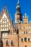 Wroclaw poland Obrazy Royalty Free