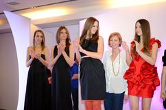 Fashion show - Wroclaw, Poland Royalty Free Stock Image
