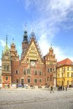 Wroclaw. The ancient town hall building Royalty Free Stock Photos