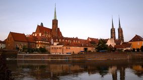 Wroclaw stock video footage