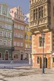 Wroclaw, Poland, Old Town Hall, Main Market Square Royalty Free Stock Photo