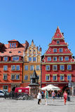 WROCLAW, POLAND - 12.09.2016: Old Town and Market Square in Poland, Europe Stock Photography
