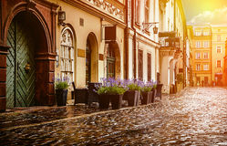 Wroclaw - Poland's historic center Stock Image
