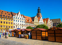 Wroclaw - Poland's historic center Royalty Free Stock Image