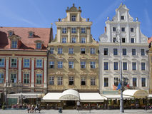 WROCLAW, POLAND - SEPTEMBER 17.2015:,old town main square, September 17.2015  Wroclaw, Poland Royalty Free Stock Photo