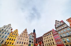 Wroclaw, Poland in Silesia region Stock Photos