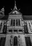 Wroclaw, Poland 21st october 2016. Facade of the old town hall i Royalty Free Stock Image
